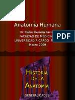 Clase Inaugural Anatomia - Dr. Herrera