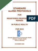 2010 Nurse Protocol Manual