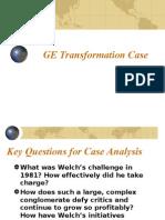 GE Case Analysis