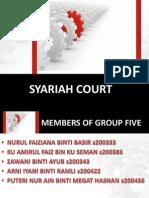 Syariah Court Group 5
