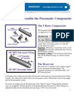 Identify and Assemble Pneumatics components