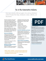 The MathWorks in the Automotive Industry