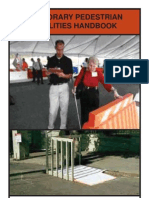 Temporary Pedestrian Facilities Handbook