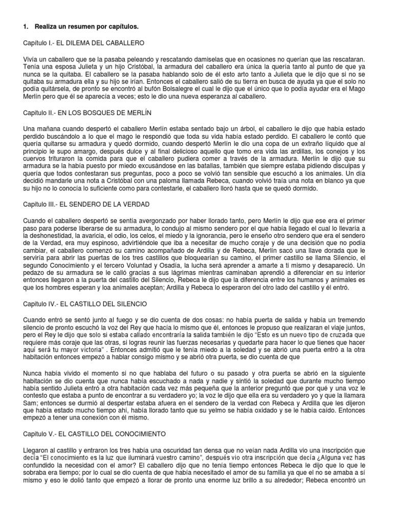 Libro El Caballero De La Armadura Oxidada Resumen - Libros