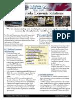 Us Canada Economic Relations Factsheet