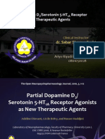 Journal Reading FK UKI (Partial Dopamine D2 Serotonin 5-HT1A Receptor Agonists as New Therapeutic Agents)