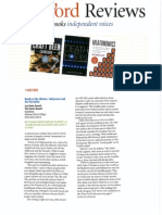 Fall 2013 issue of Foreword Reviews Features Death at the Movies by Lun and Tom Davis Genelli