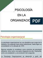 Psicologia en La Organizacion