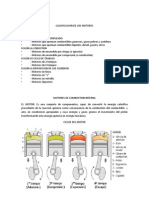 Clasificacion de Motores a Combustion