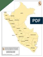 Limites de departamento y provincias del Perú
