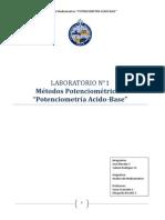 Laboratorio 1- Potenciometria Acido-base Jose y Val