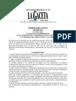 Decreto_37501 Declaracion de Emergencia Ataque de La Roya Al Cafe
