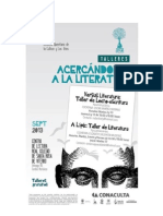 Talleres literatura UAQ