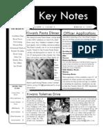 Keynotes March