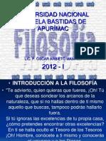Introduccion a La Filosofia.unamba. 2012. i.