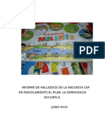 Informe El Pilar 2