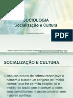 SOCIOLOGIA - socialização e cultura