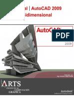 Manual Autocad 2009 (Bidimensional) Totalmente en Español