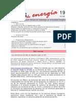 Boletín Clips de Energía 19 del 2009