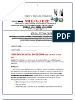 SSI ENGG SELECTION ORDER 1