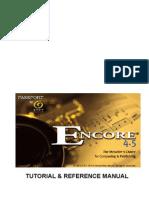 Encore45Manual Ingles