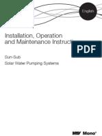 Sun-Sub Technical O&M