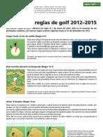Nuevas Reglas de Golf 2012 EU