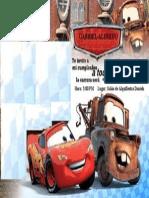 Invitacion de Cars