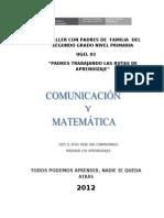 Separata  comunicación y matemática