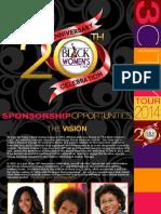 NEW TBWE Sponsorship
