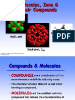 Chapter 2 Molecules & Ions & Compounds