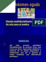 Abdomen Agudo(Dr. Delgadillo)