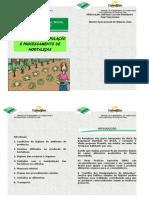 CARTILHA DE MANIPULAÇÃO E PROCESSAMENTO DE HORTALIÇAS