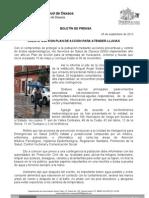 05/08/13 Germán Tenorio Vasconcelos CUENTA SSO CON PLAN DE ACCIÓN PARA ATENDER LLUVIAS1