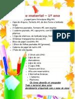 Lista de Material 2013