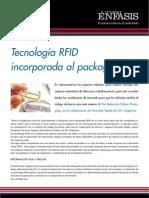 Tecnología RFID incorporada al packaging