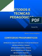 1196263829_metodo_e_tecnicas_pedagogicas.ppt