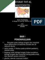 Referat Tht-kl Mastoiditis