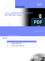 LDAP Configuration for Cognos 8 With IBM Blue Pages