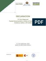 Declaración IV Foro FPH