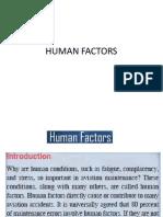 Human Factor AMT