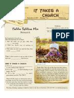 Childrearing 4 Matt 6-9-15 Handout 090813