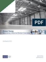 Avison Young - New Jersey Industrial Market Report - 2nd Quarter 2013