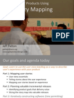 Patton User Story Mapping