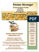 September 8 Newsletter