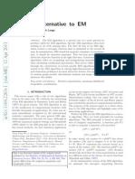 MM Alternative to EM