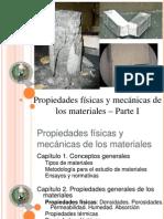 Propiedades físicas y mecánicas de los materiales - Parte I EC 2011-2012
