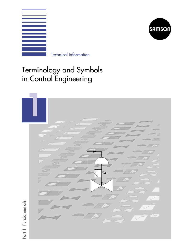 L101enterminology And Symbols In Control Engineering Block Valve Pid Symbol On Electrical Schematic Switch System Instrumentation