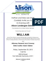Fundraiser for Allison Lundergan Grimes for Senate