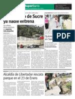 SuperBarrio 6 Septiembre Gimnasio de Sucre Pared en Caricuao Bulevard 23 d Eenero